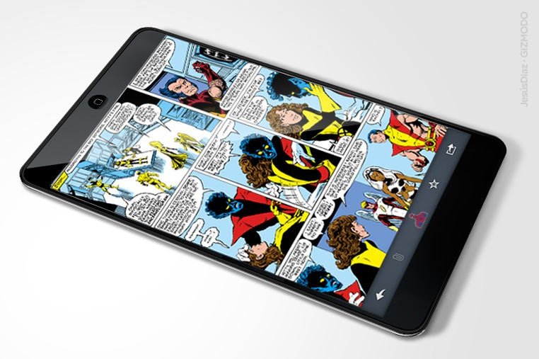 Apple Tablet Will Restore Comic Books To Former Glory