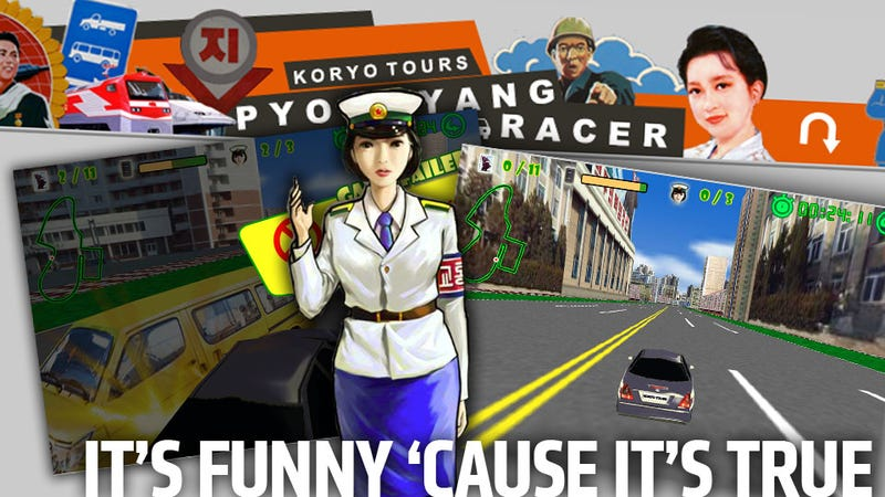 The First North Korean Racing Game Is A Perfect Metaphor For Their Society