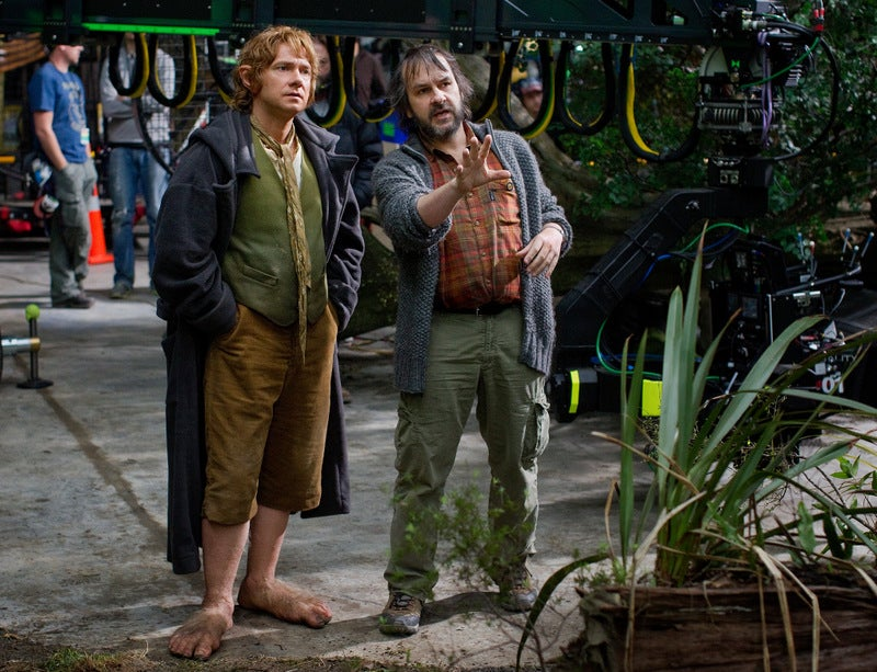 The Hobbit's Martin Freeman on dwarves, Gollum and Leonard Nimoy