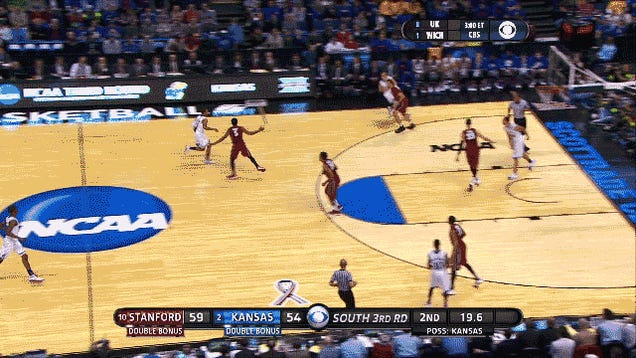 How A Clever Kansas Play Went Viral And Took Over College Basketball