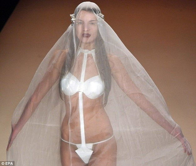 The G-String Wedding Dress of Your Dreams