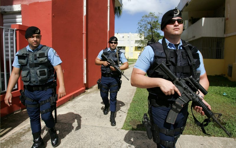 Puerto Rico Cops Just as Bad as Mainland American Cops