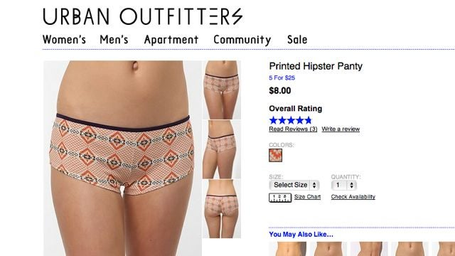 Urban Outfitters Gets Rid Of All Its 'Navajo' Products [Updated]