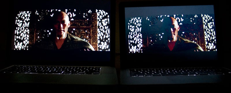 Screen Shootout: MacBook (New) vs. MacBook (Old) vs. MacBook Air