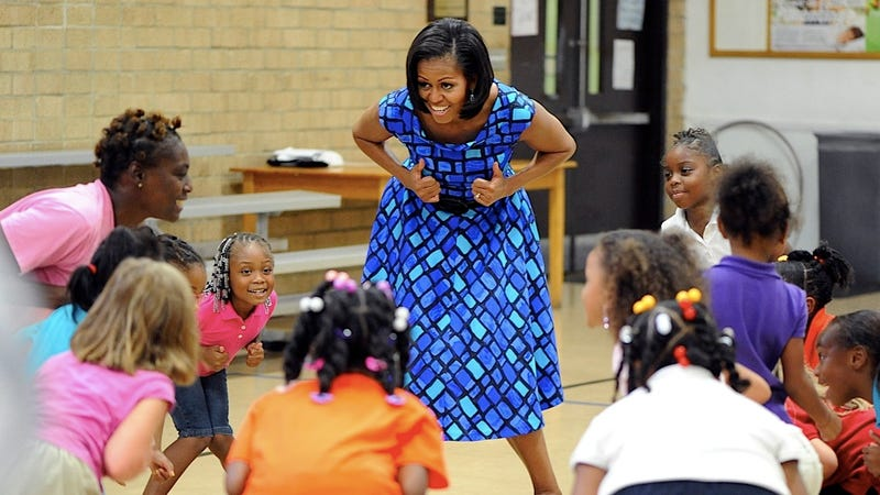 FLOTUS Takes a Strong Stance on Silly Dance