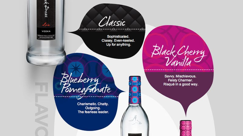 Finally, a Feminine Vodka Specially Formulated to Get Your Vagina Drunk
