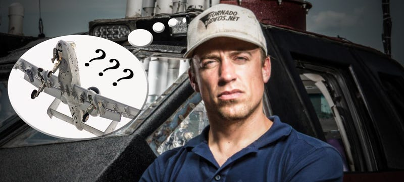 Star Tornado Chaser Can't Believe The A-10 Warthog Storm Chaser Is Legit!
