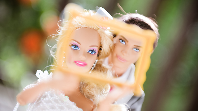 See Barbie And Ken's Dream Wedding Album