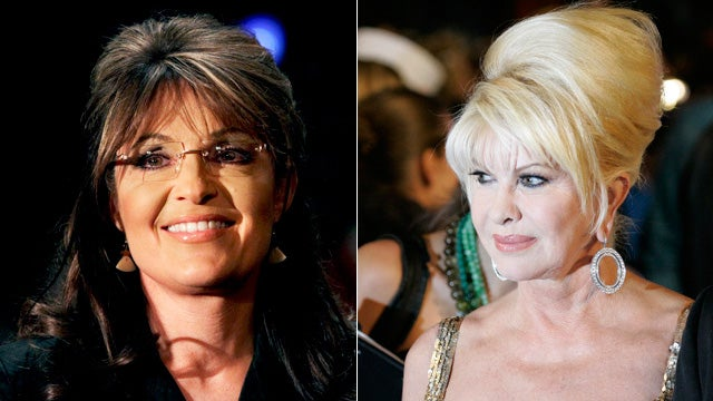 When Sarah Palin Snuck Out to See Ivana Trump