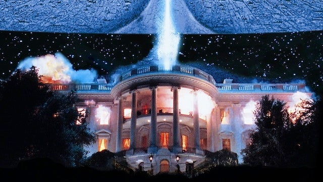 Who destroyed the White House best?