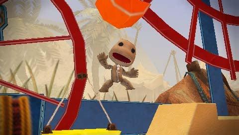 Tiny LittleBigPlanet PSP Screens