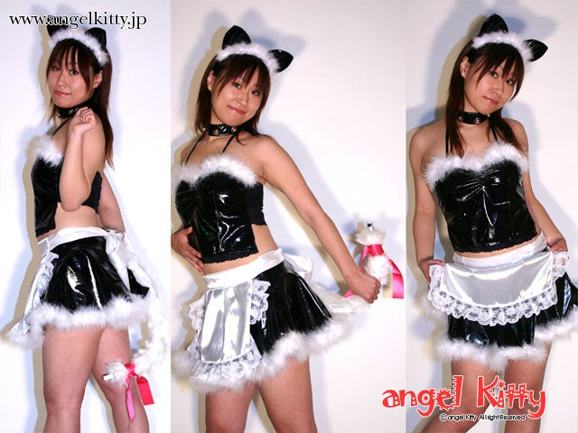 Angel Kitty Tail Cam for Intimate, Up-The-Skirt Moments