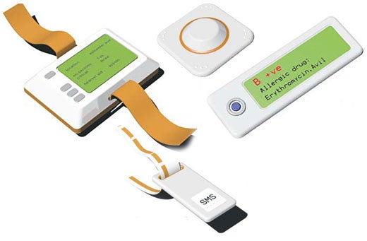 Design Concept: Bluetooth Band-Aid System Can Save Lives
