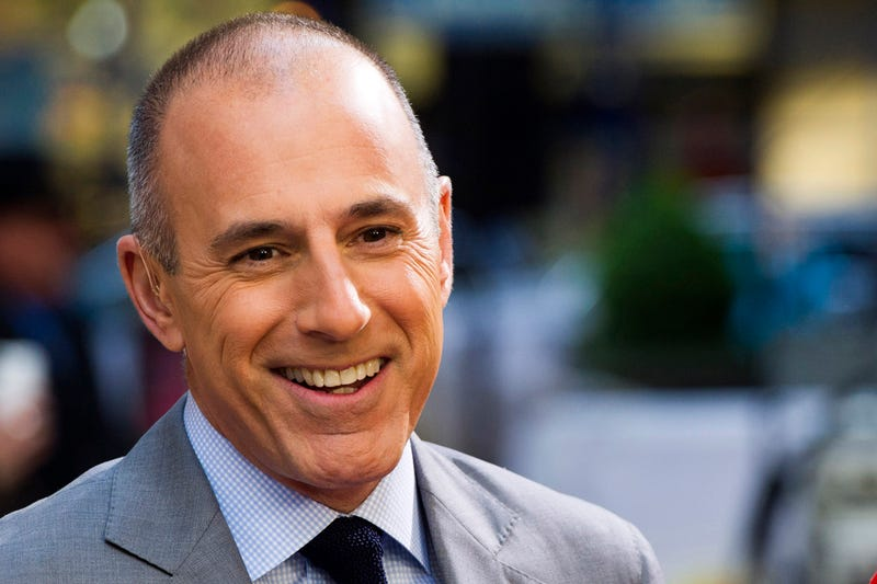Matt Lauer: I'd Have Asked A Man If He Can Be A Dad And A CEO, Okay?