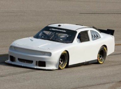 New Nationwide Series Dodge Challenger Looking Muscular On Track, Unlike Rest Of Field