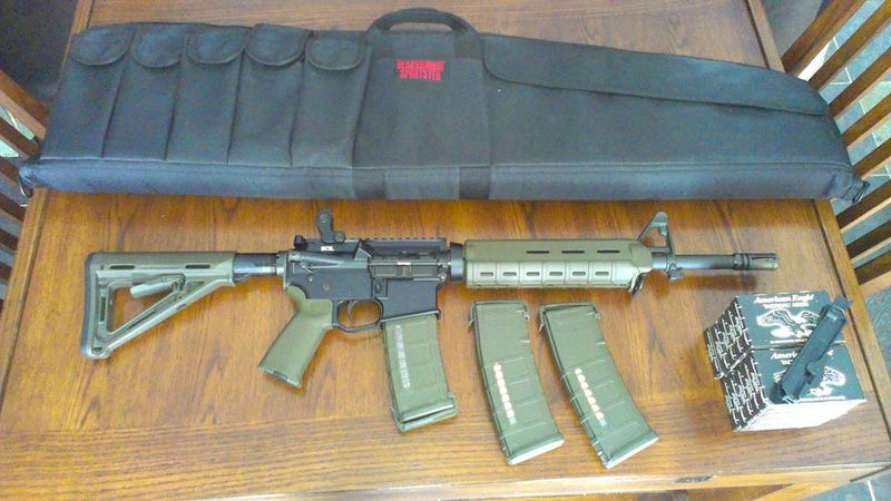 'Reddit Assault Rifle' Is The Most Terrifying Thing On The Internet and It's For Sale on Reddit Right Now