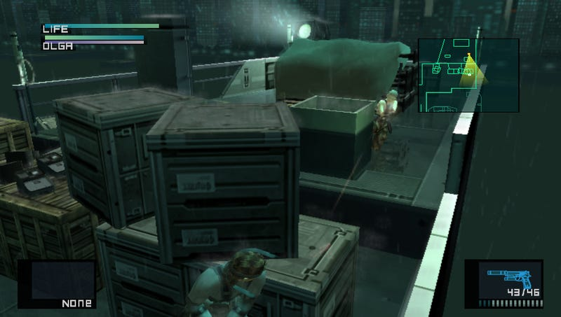 How Does Metal Gear Look on the PS Vita?