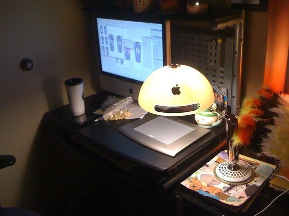 The iMac G4 Lamp Is As Cute As A Luxo Jr