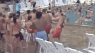 My Super Spring Break: Watching This Holiday Inn Pool Cam All Day