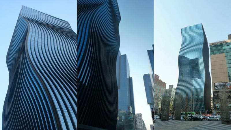 This Mind-Bending Wave Skyscraper Is Real