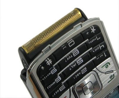 Rong Zun 758 Razor Cellphone Features a Built-In Shaver