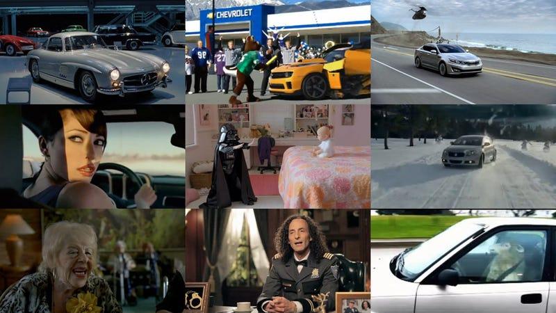 The Super Bowl car commercial super guide