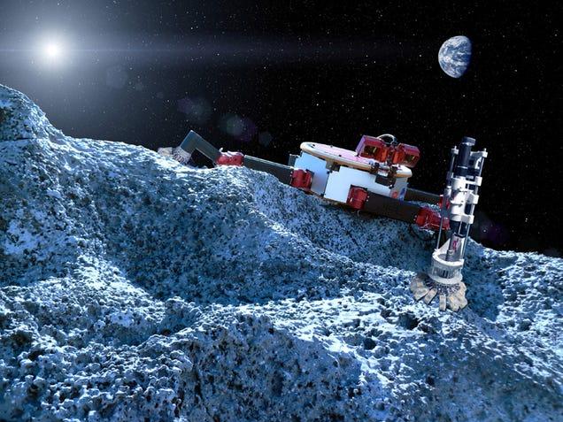 Aqui são os robôs que poderiam ser espaço para nós Explorando no Futuro