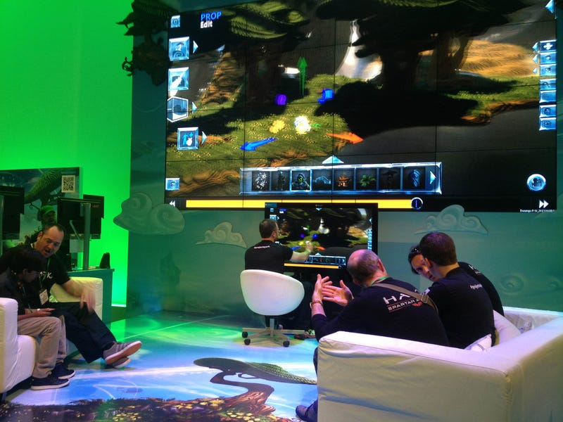 The Microsoft E3 Booth In Nine Photos, With Special Guest