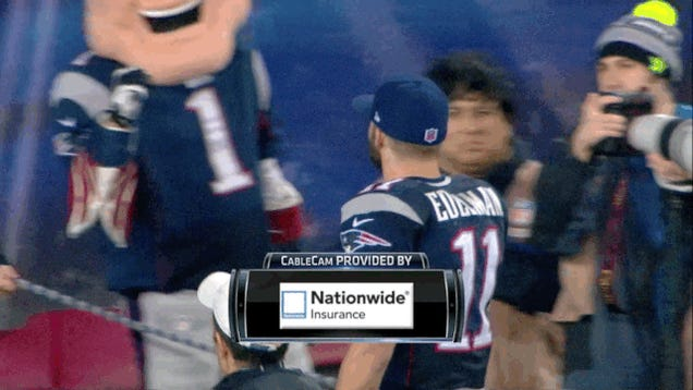 The Patriots Run All Over Colts, Advance To AFC Championship Game
