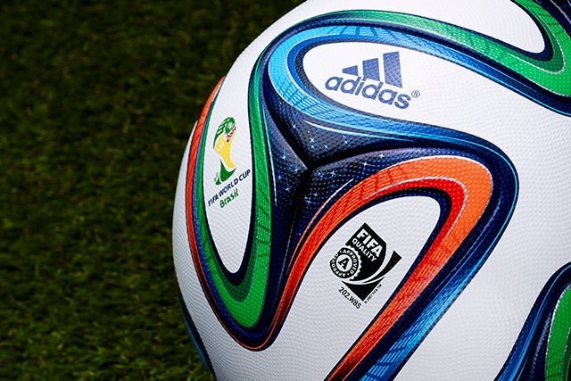 How Will The 2014 World Cup Ball Swerve? An Aerodynamic Test