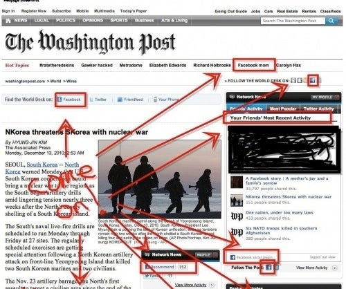 "The Washington Post Seems to Have Heard of this ""Facebook"" Site"