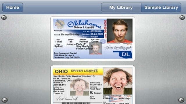 Cranky Senator Pissed at Fake ID App