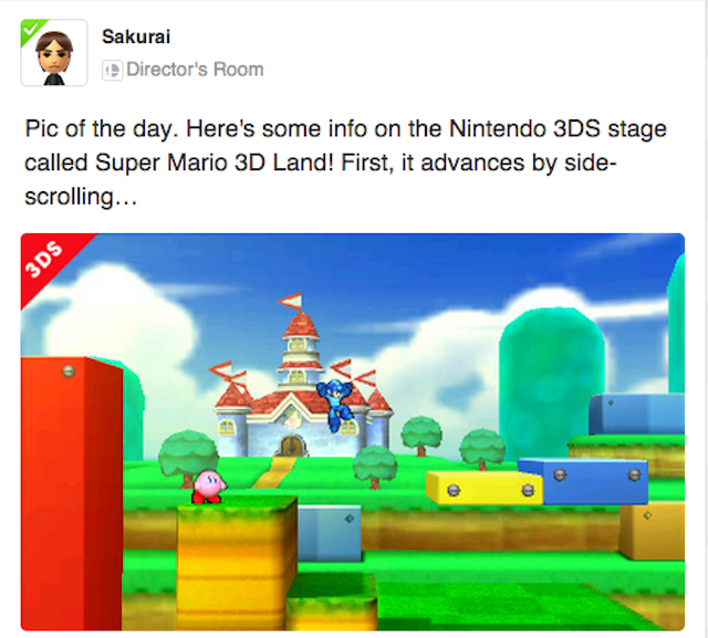 You Can Only Play This Cool Smash Bros. Stage On The 3DS