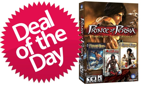 The Prince Of Persia Sands of Time Trilogy Is Your Drape-Climbing Deal of the Day