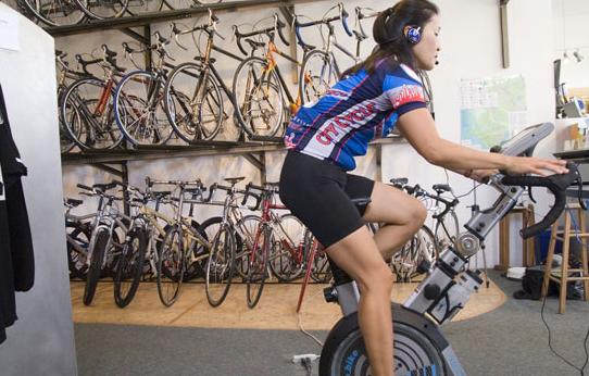 Excercise Across the Web with the Ergo Bike Premium 8i
