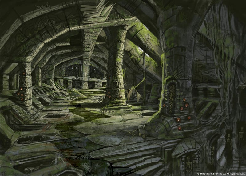 Some Concept Art From The Elder Scrolls V: Skyrim