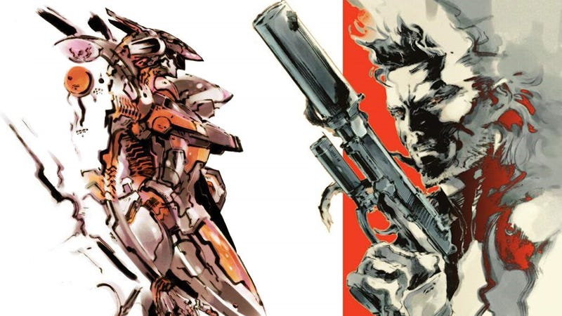 Metal Gear, Zone of the Enders Return With HD Collections
