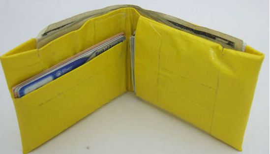 How to Make A Quality Duct Tape Wallet