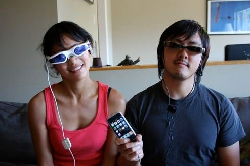 Giz Commenter Appreciation: Borrow Zeiss Cinemizer iPod Video Goggles for 2 Weeks