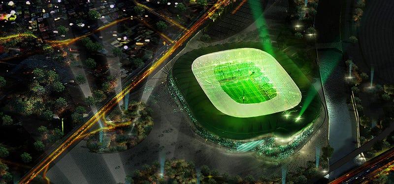 Finally, A Stadium Shaped Like A Crocodile