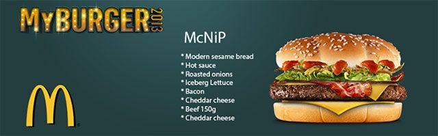 McDonalds Names Burger After...Video Game Team