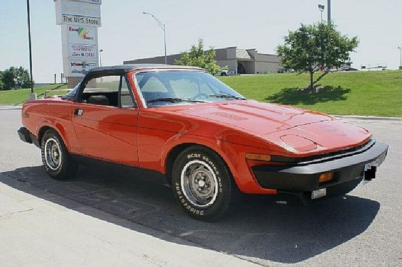 Malaise-Era 1980 Triumph TR7 for $6,495!!!