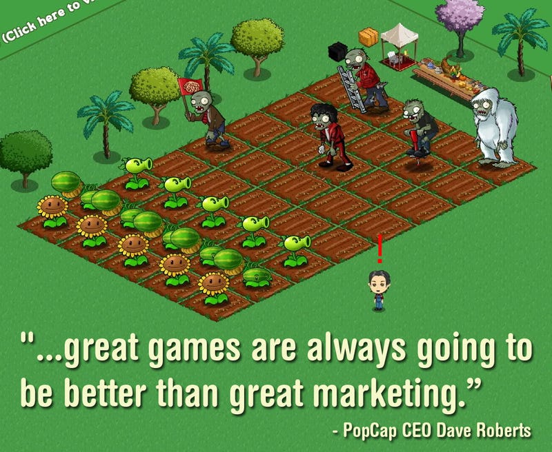Plants vs Farmville
