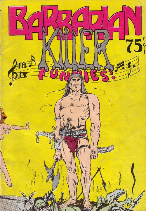 The spaced-out covers of 1970s underground comix (NSFW)