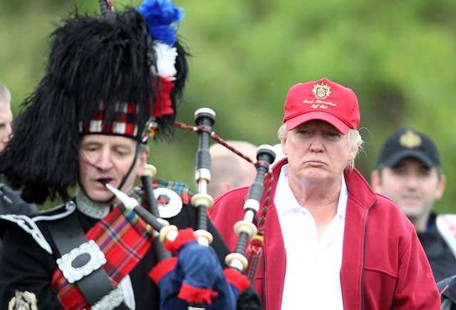 Donald Trump Opened A $150 Million Golf Course In Scotland, Is Still A Dick