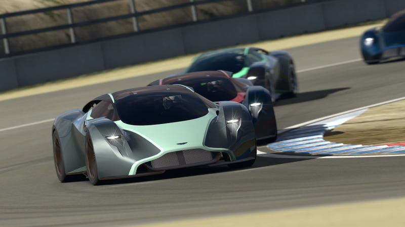 The Aston Martin DP-100 Is An Incredible Aston On Hallucinogens