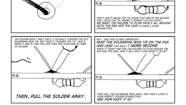 "The ""Soldering is Easy"" Comic Book Teaches You to Solder With Step-By-Step Illustrations"