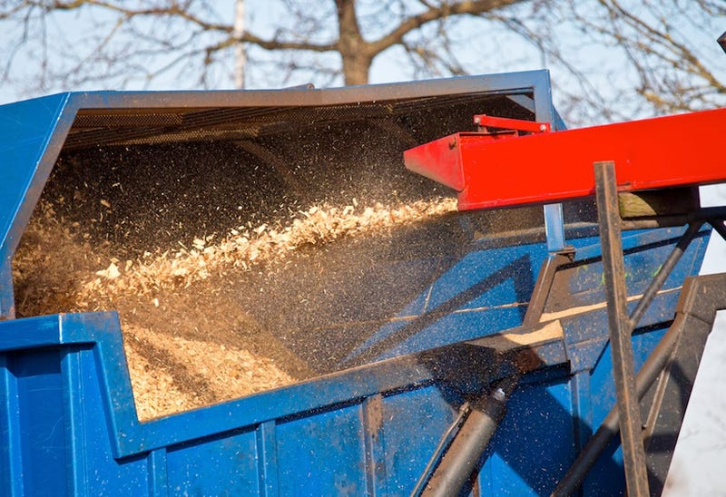 Man Miraculously Survives Fall Through Wood Chipper