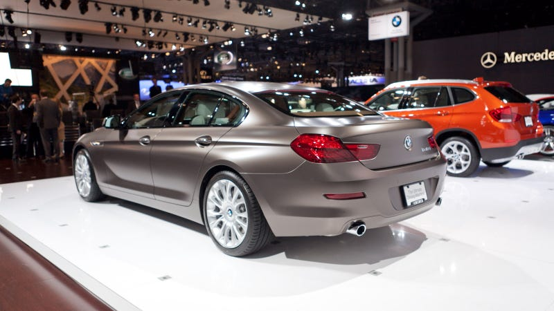 2013 BMW 6 Series Gran Coupe: Live Photos
