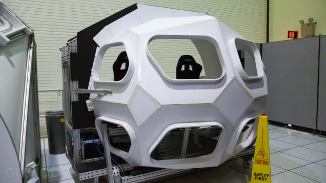 """Inside """"The Domes,"""" Where NASA Drives the Spacecraft of the Future"""